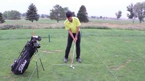 Swing Adjustments For Iron Shots