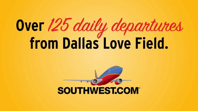 Southwest Airlines – Texas Rangers Concourse Animation