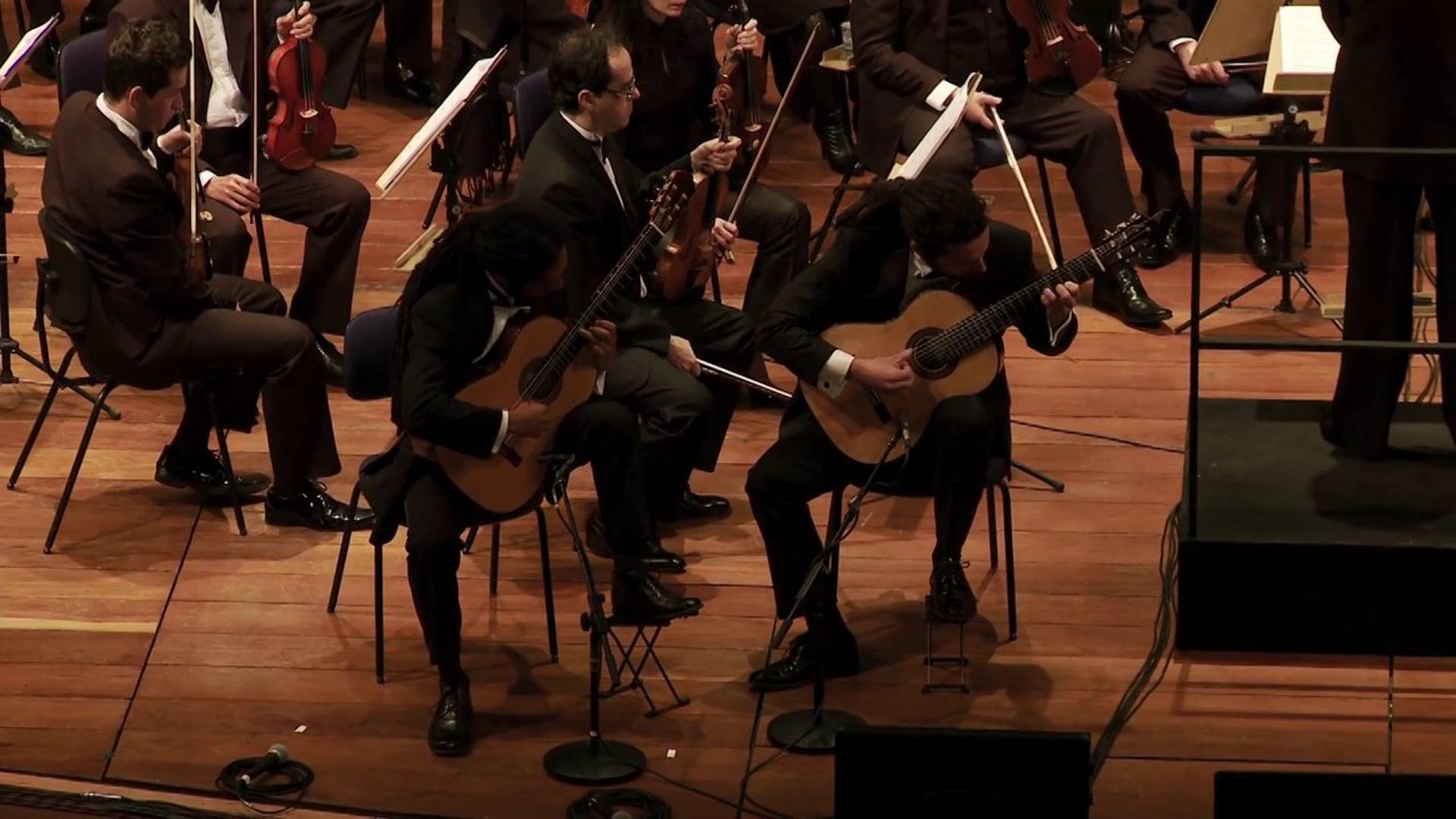 44º Festival de Campos do Jordão   Brasil Guitar Duo   Orquestra Jazz Sinfônica