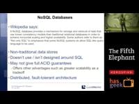 SolrCloud and NoSQL
