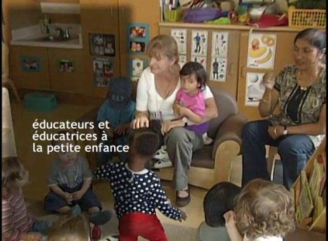 Partie : éducateurs et éducatrices à la petite enfance