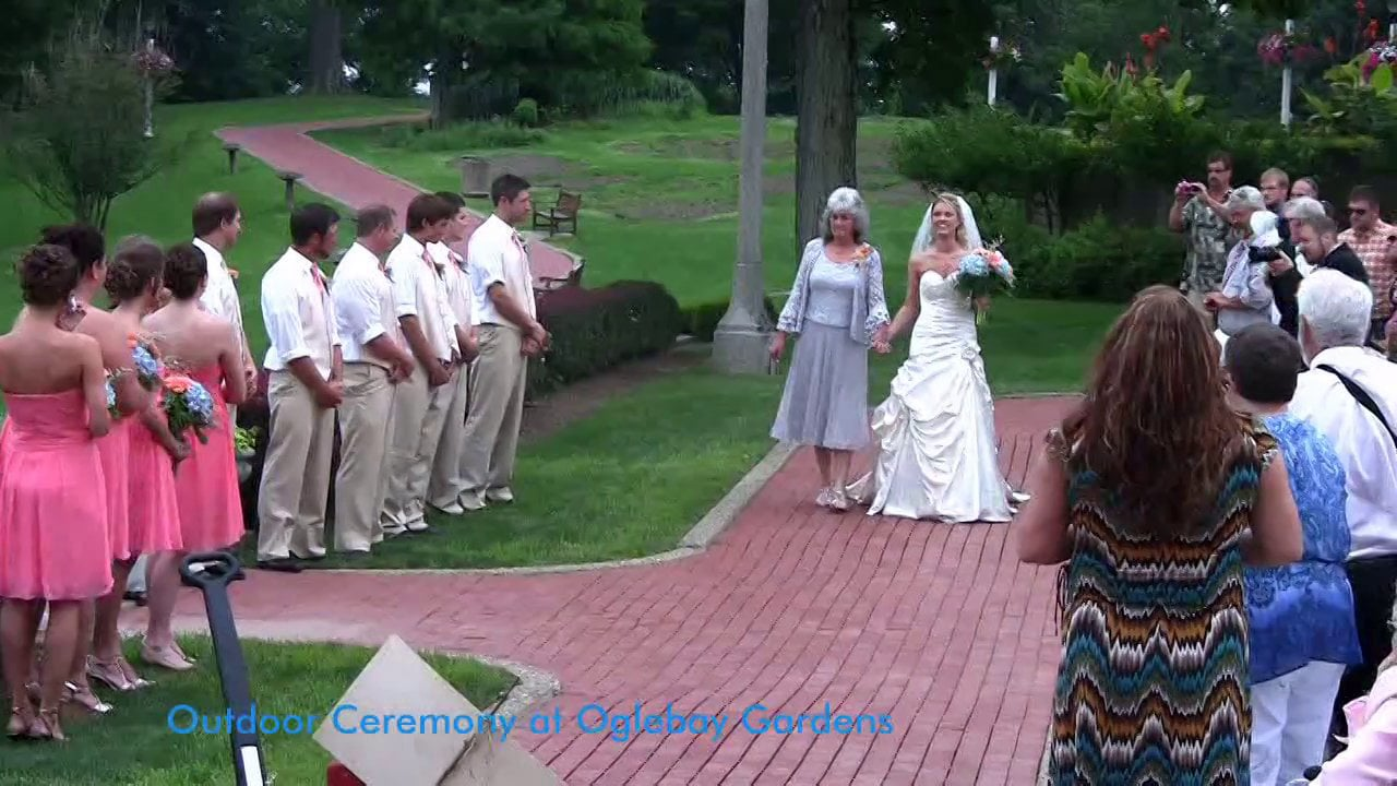 Cyndi and Brandon - Oglebay Resort - Wheeling, West Virginia Wedding