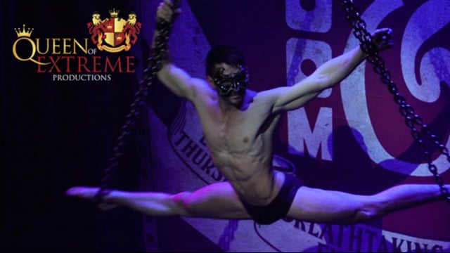 Serenity and Stephen Williams brings the sex appeal to Boom and Bang Circus