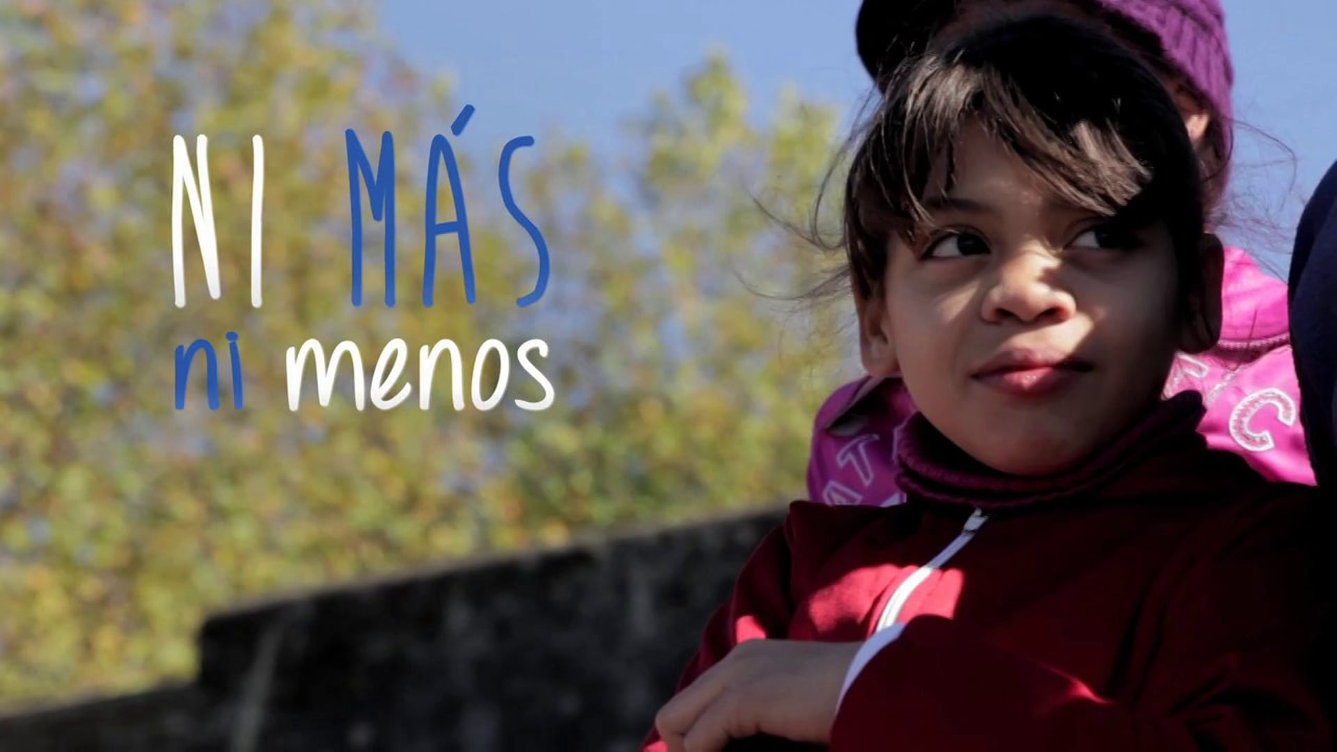 Ni más ni menos   Unicef Uruguay