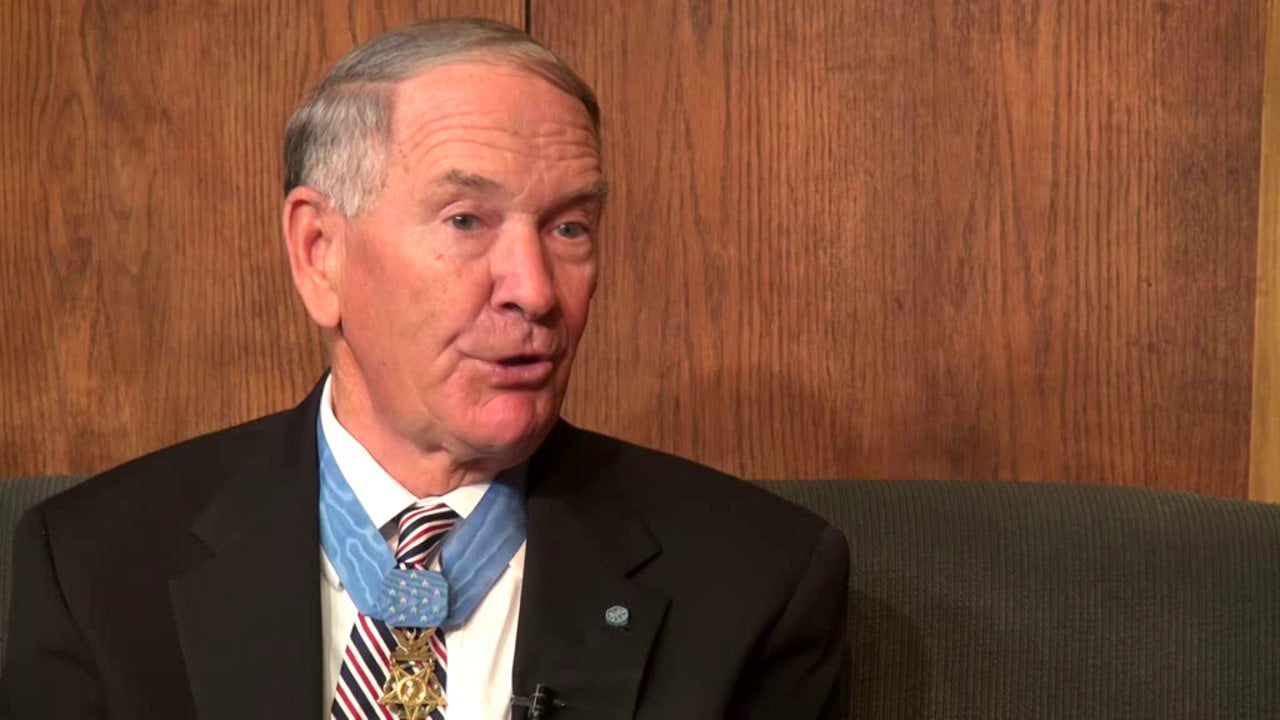 Interview with Medal of Honor recipient Col. Walter Marm