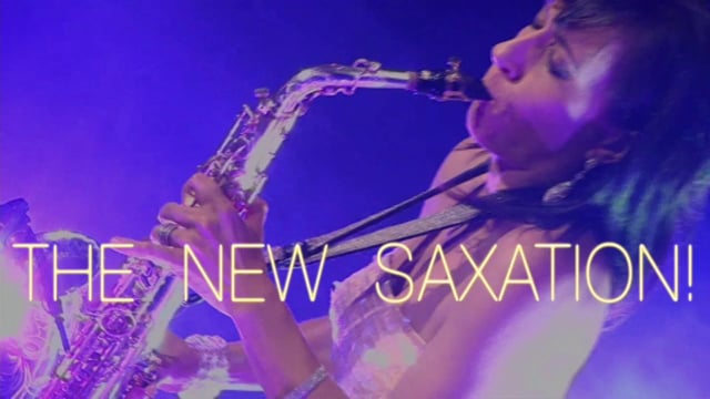 Keeshea Lady Sax - Solo, duo, trio or band video preview