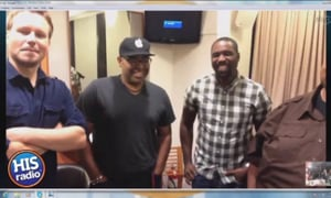 mandisa's band is backstage at GMA