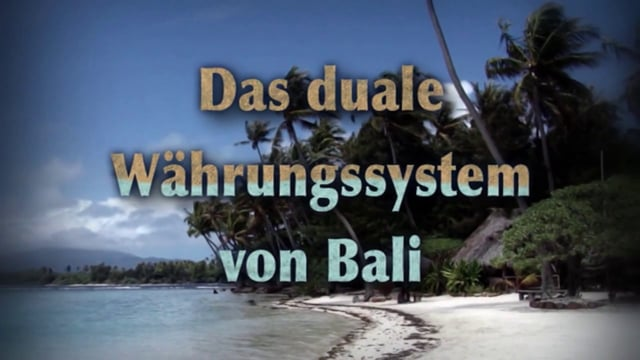 Bali's Dual Currency System