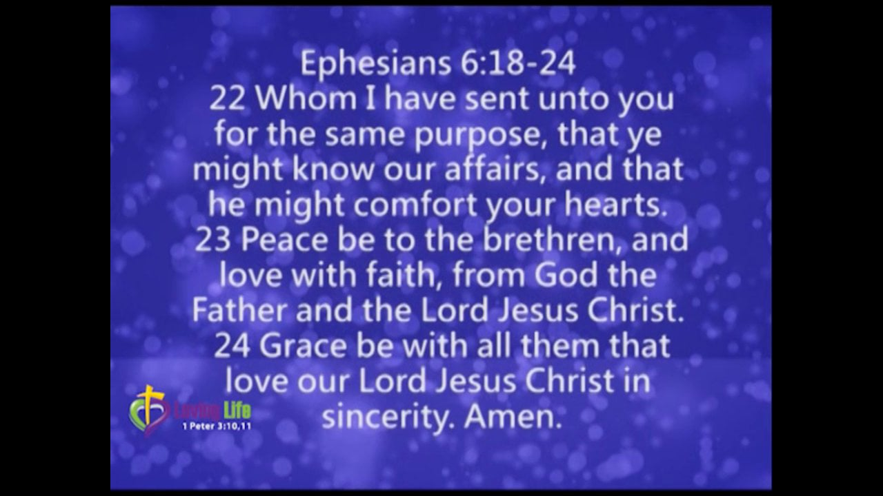 "Armor of God, ""Sword of the Spirit"""