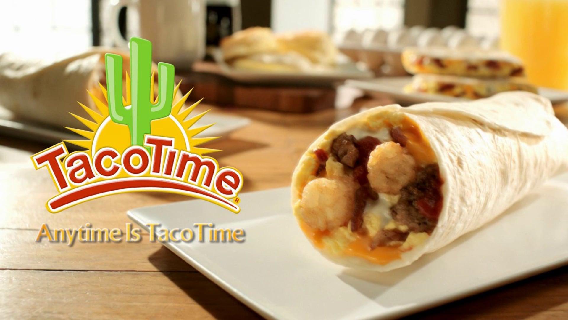 "Taco Time ""Breakfast Branding"""