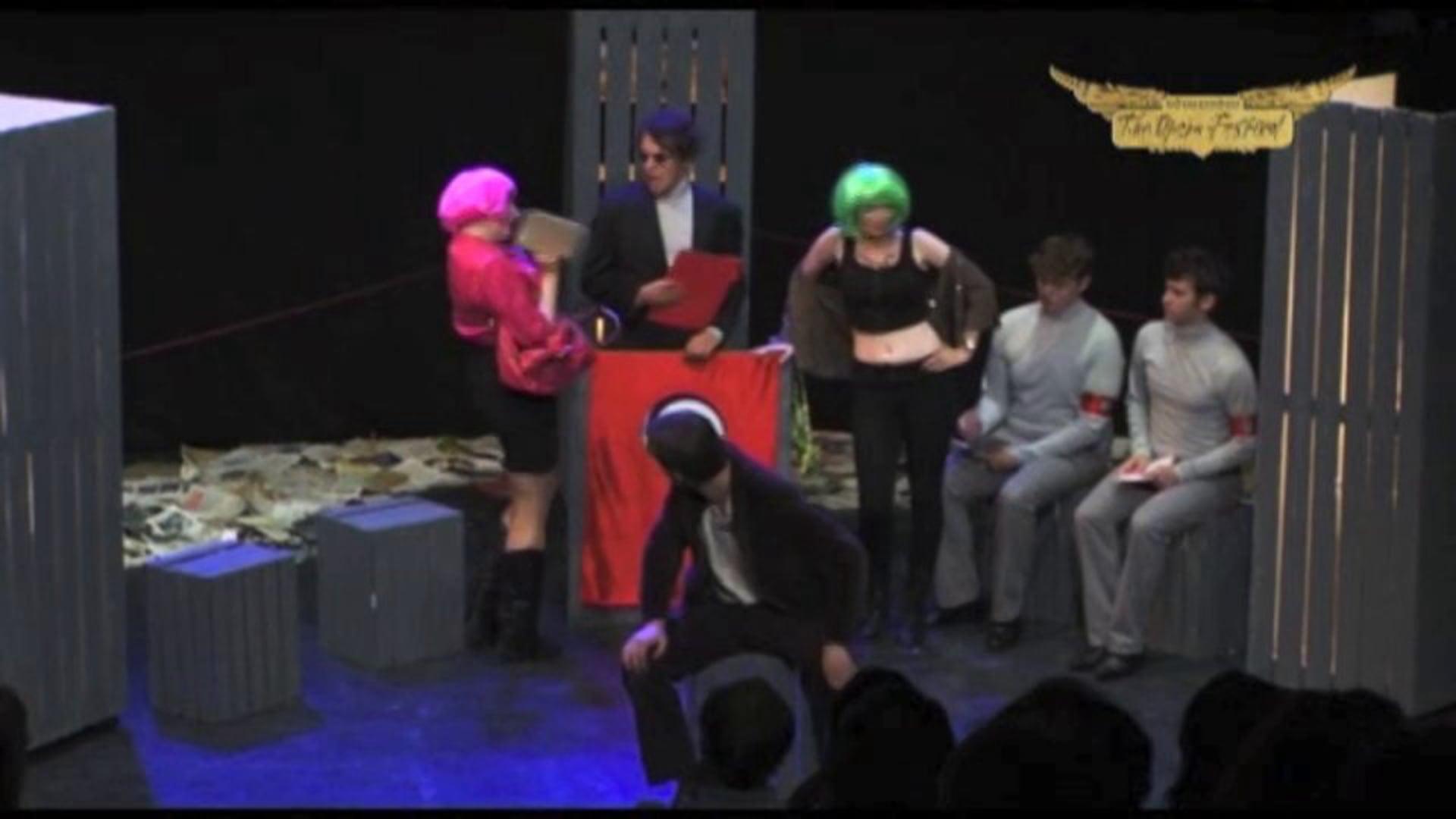 MICROmegas - Scene One