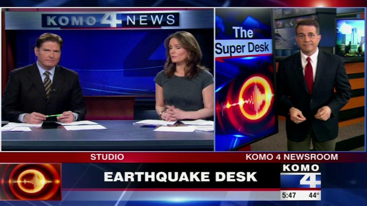 KOMO4 Earthquake Story 2013