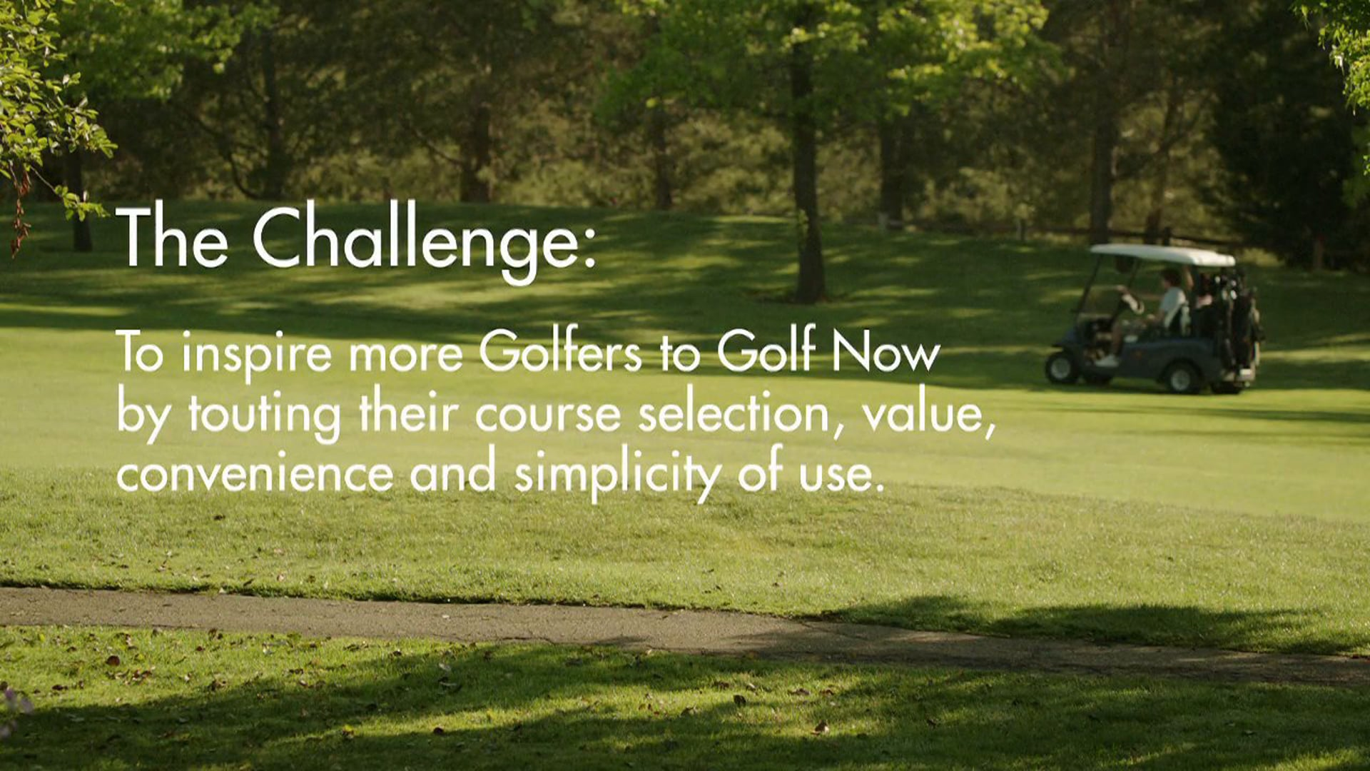"""GolfNow """"Sizzle"""""""
