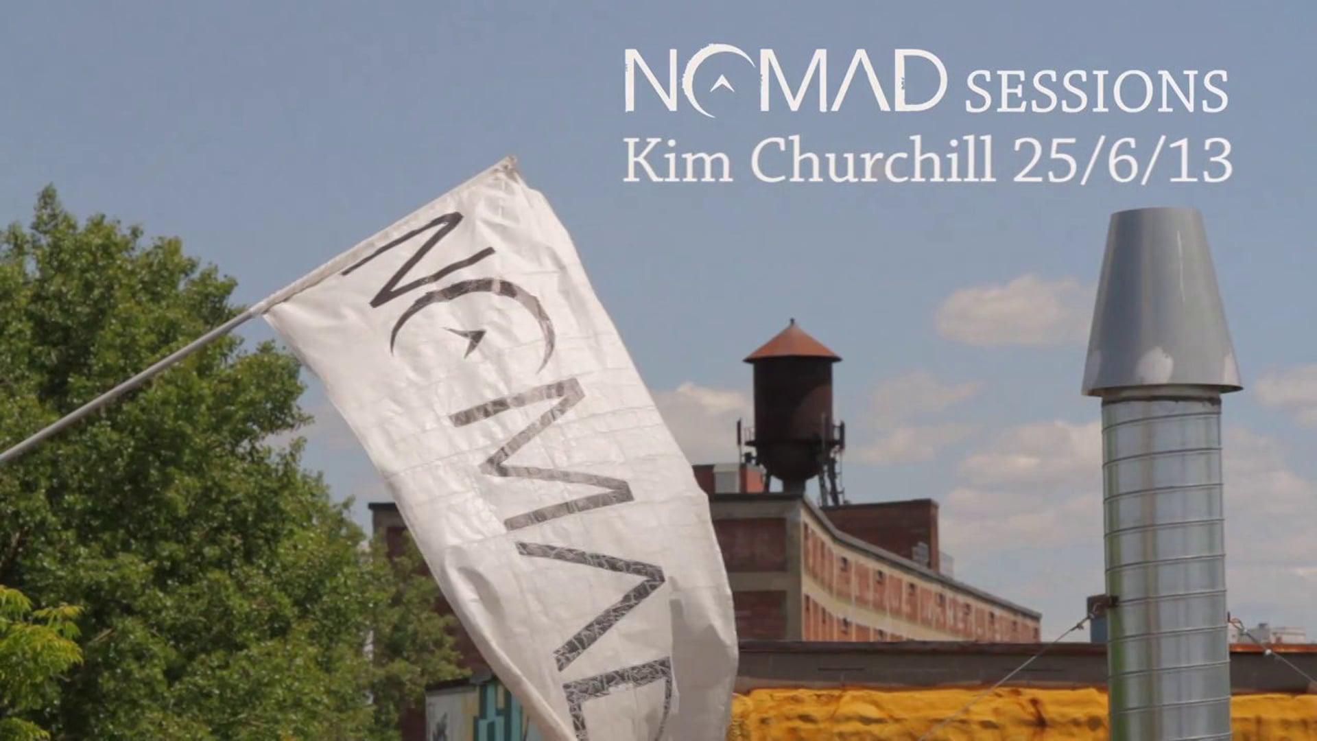 NOMAD Sessions 25/5/13 Kim Churchill