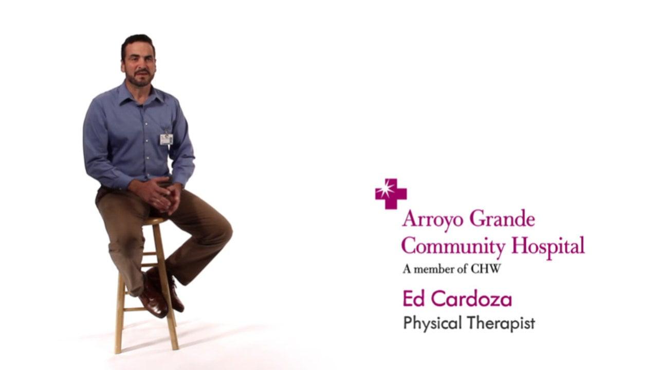 Arroyo Grande Community Hospital Commercial—Featuring Ed Cardozza