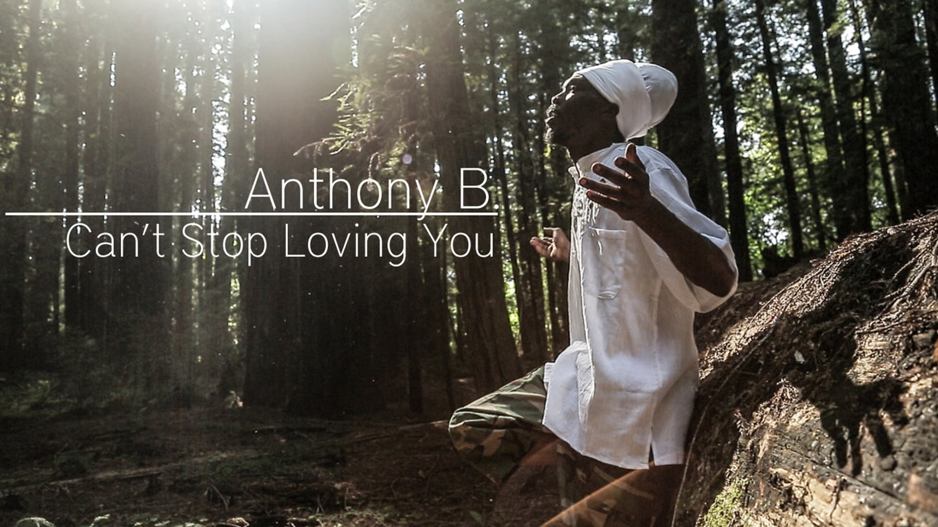 """Anthony B """"Can't Stop Loving You"""" (Ray Charles Tribute) [Official 2013 Music Video]"""
