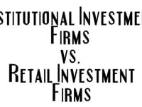 Institutional vs Retail Investing