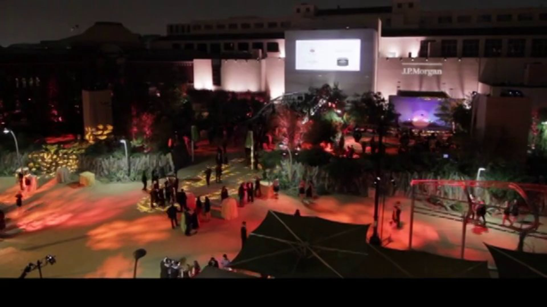Production Elements, Inc. - 2013 Natural History Museum Exterior Projection Sizzle Reel