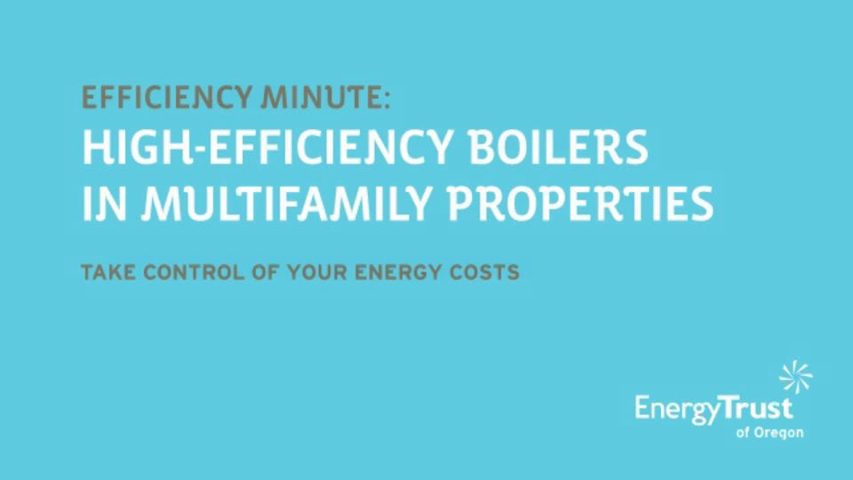 Thumbnail of video for Efficiency Minute: High-Efficiency Boilers