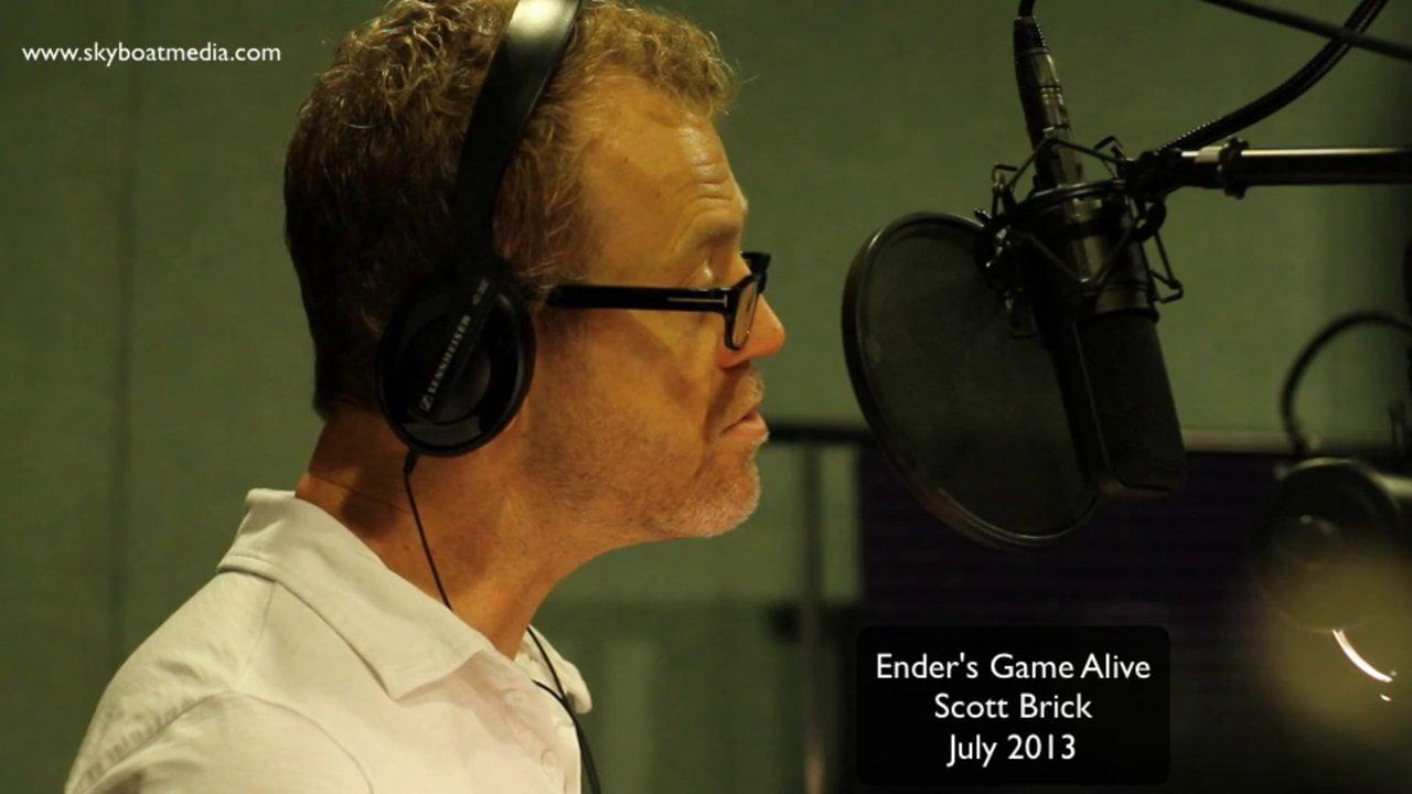 Scott Brick - in Ender's Game Alive