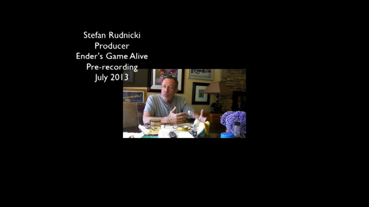 """Stefan Rudnicki  - Producer and """"Col. Graff""""  Ender's Game Alive"""