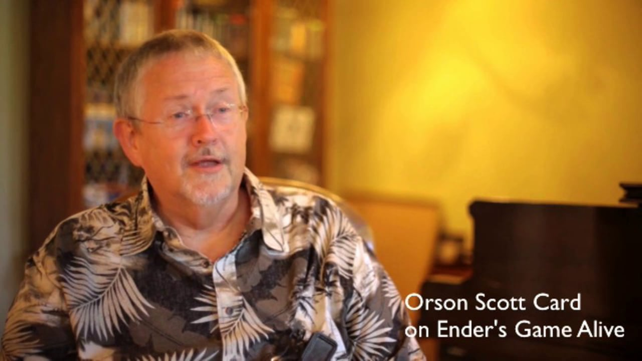 Orson Scott Card - Author of Ender's Game Alive