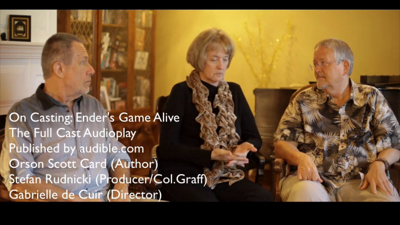 Ender's Game Alive - Skyboat Chats with the Author