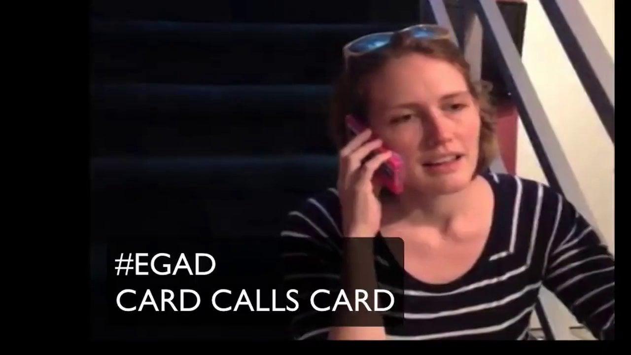 #EGAD - CARD calls CARD  (BEAN calls CARD)