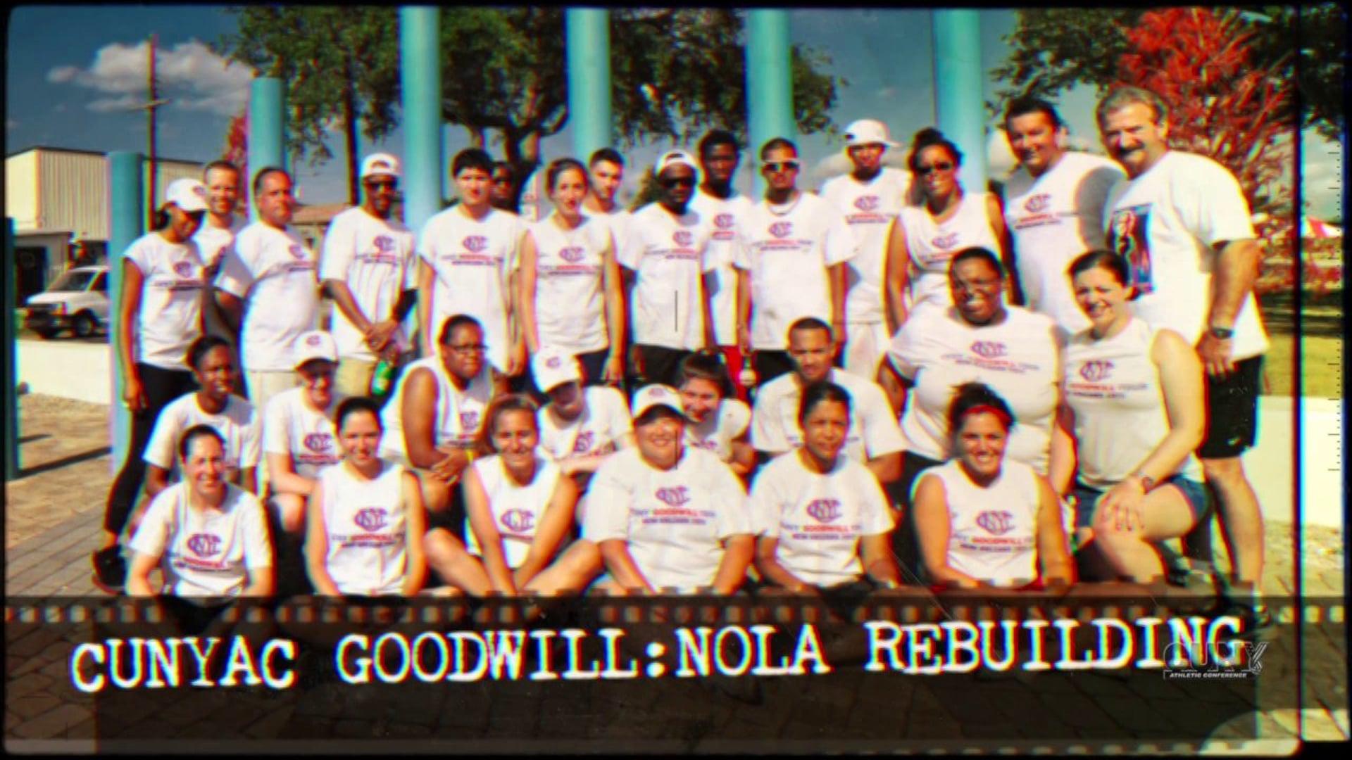 Short Documentary: CUNYAC Goodwill - Nola