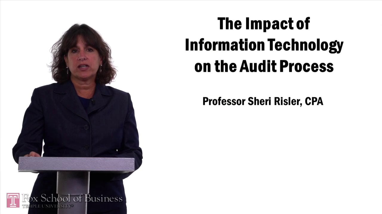 57649The Impact of Information Technology on the Audit Process