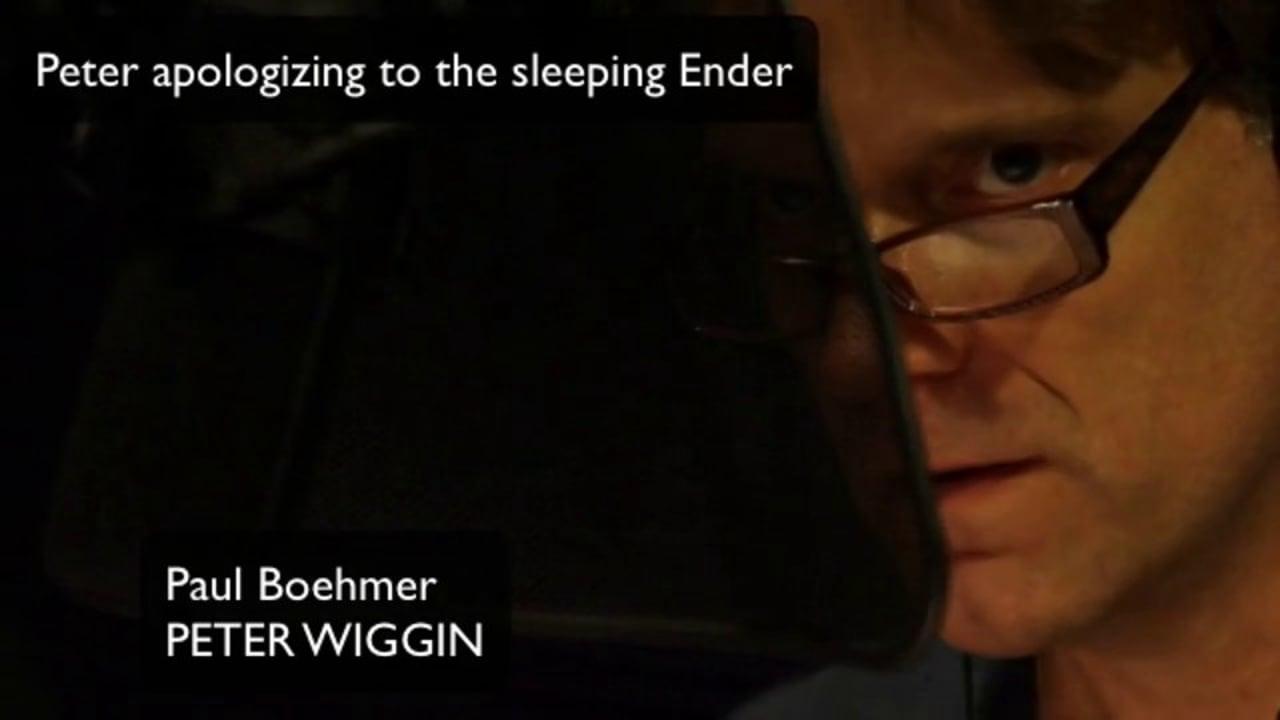 Peter Wiggin (Paul Boehmer) Out take