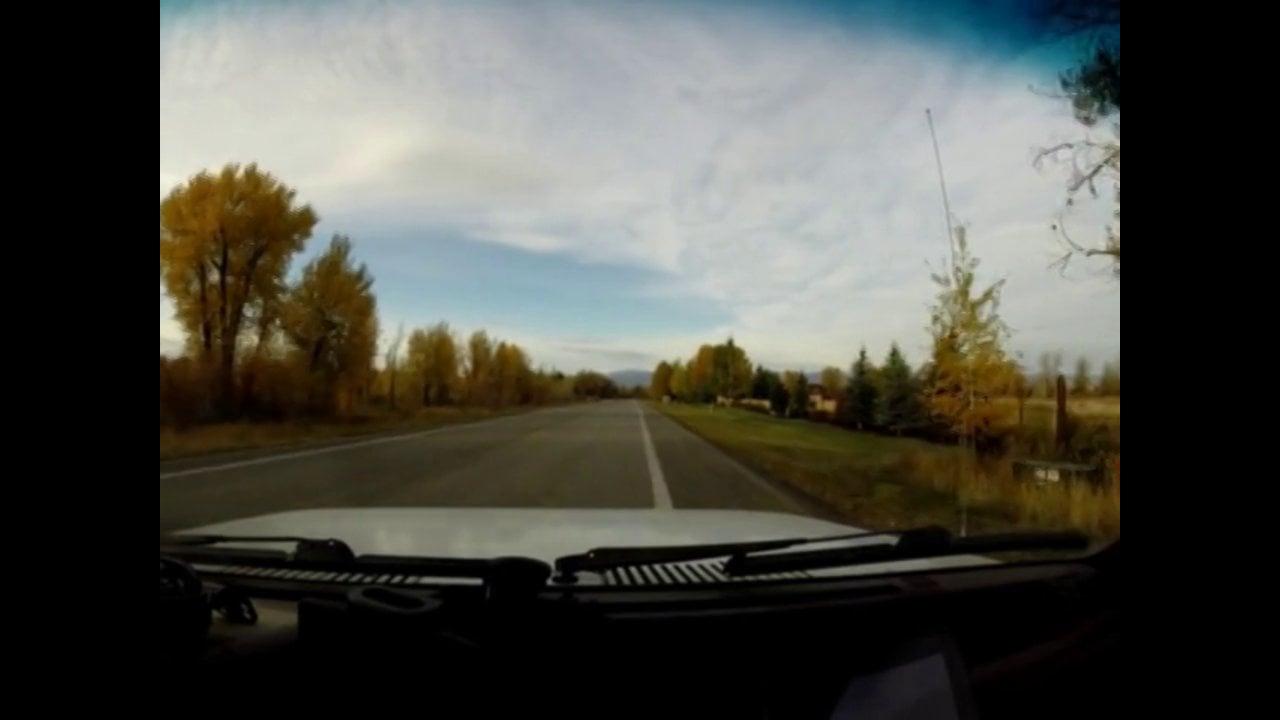Ski Hill Road to Victor Idaho