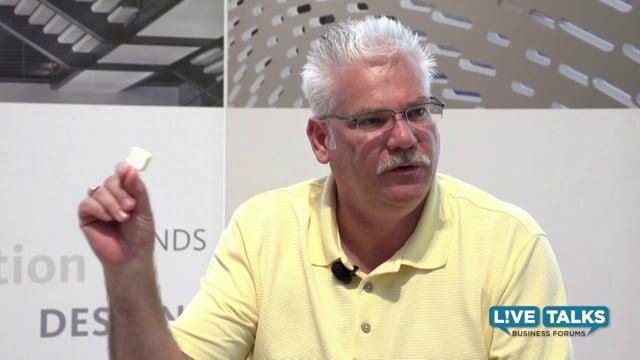 Mark Hatch, CEO, TechShop with Larry Vincent, Exec. Director, UTA Brand Studio
