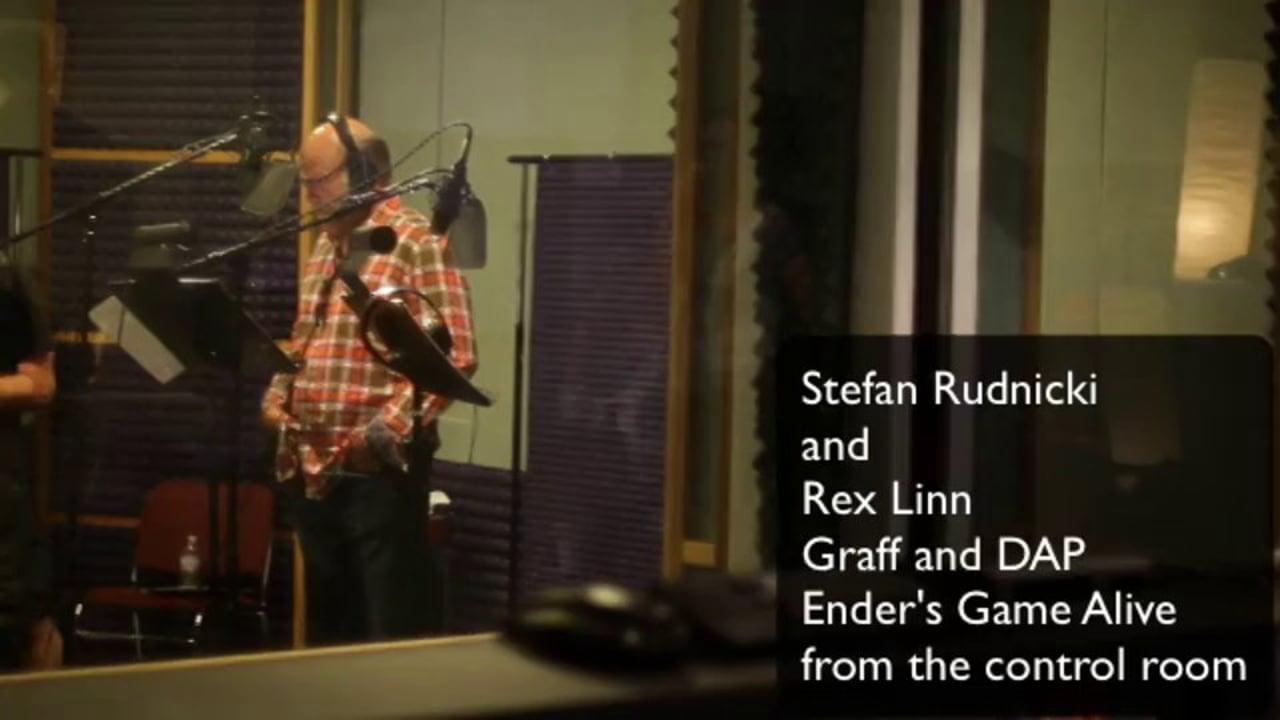 Stefan Rudnicki and Rex Linn talk monster talk in EGA