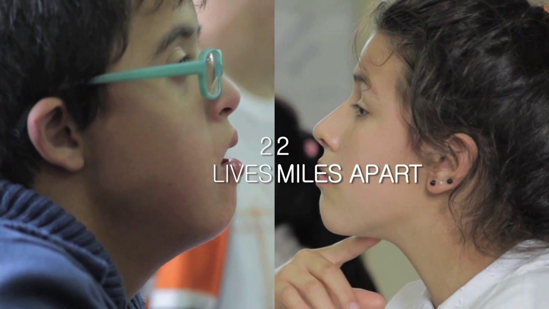 2 vidas: 2 millas de distancia   Unicef NY