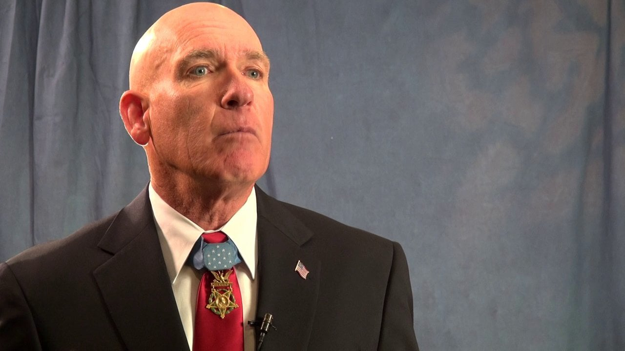 Interview with Medal of Honor recipient Sgt. Peter Lemon
