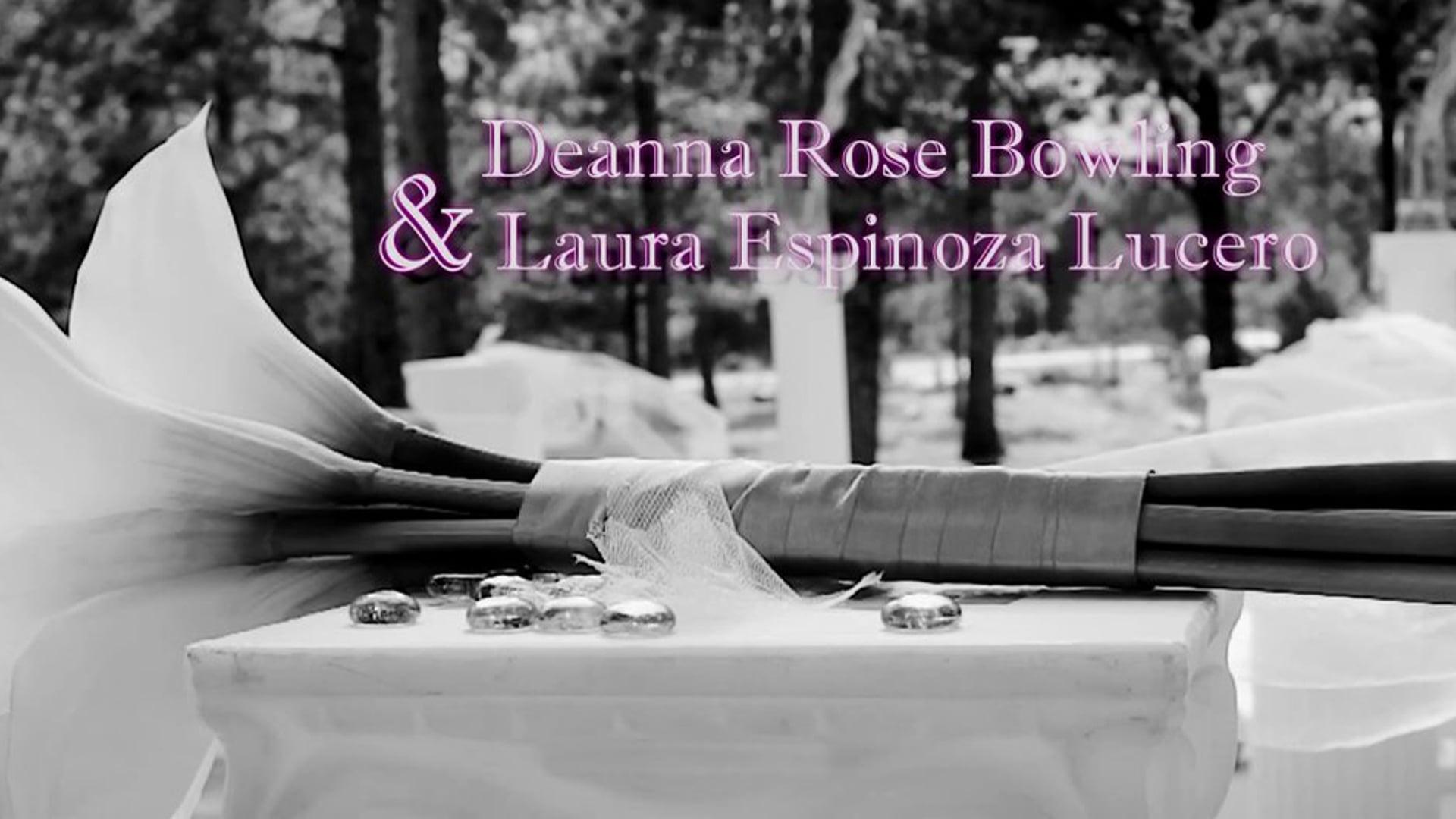 Bowling / Lucero Wedding Video
