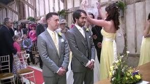 John and Catherine Defty Wedding