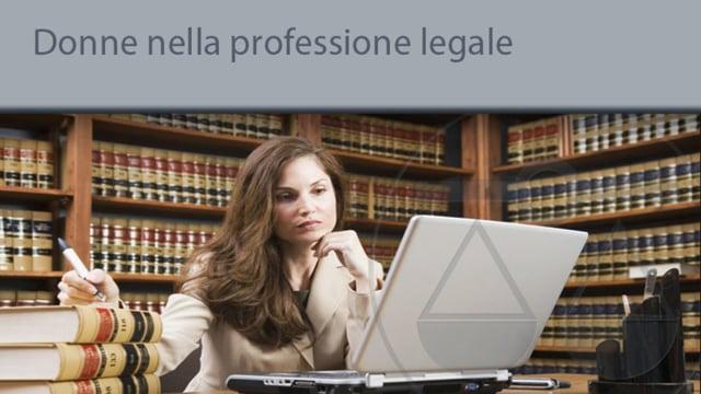 Donne nella professione legale - 22/10/2013