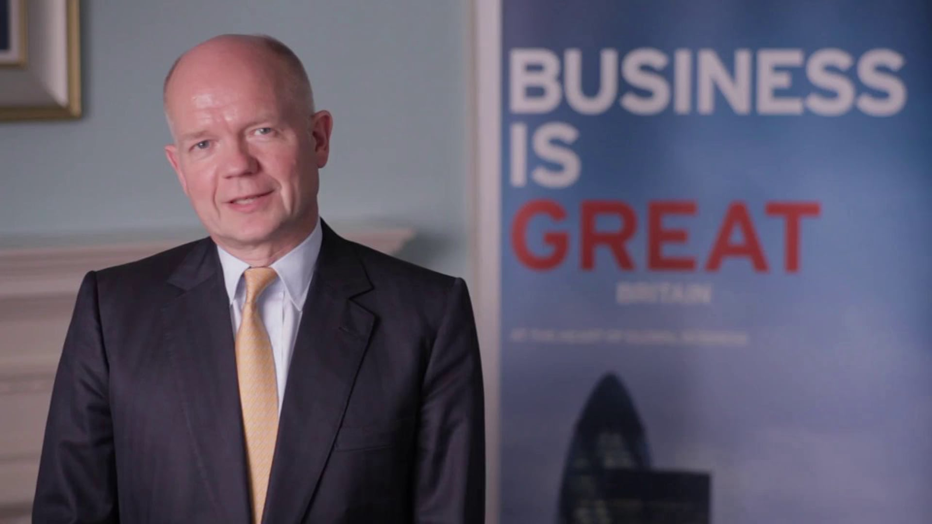 Welcome from Foreign Secretary William Hague