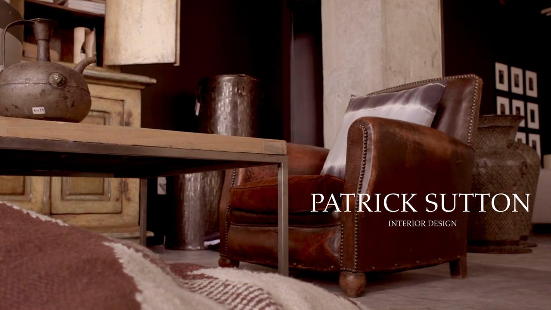 Patrick Sutton, Interior Designer
