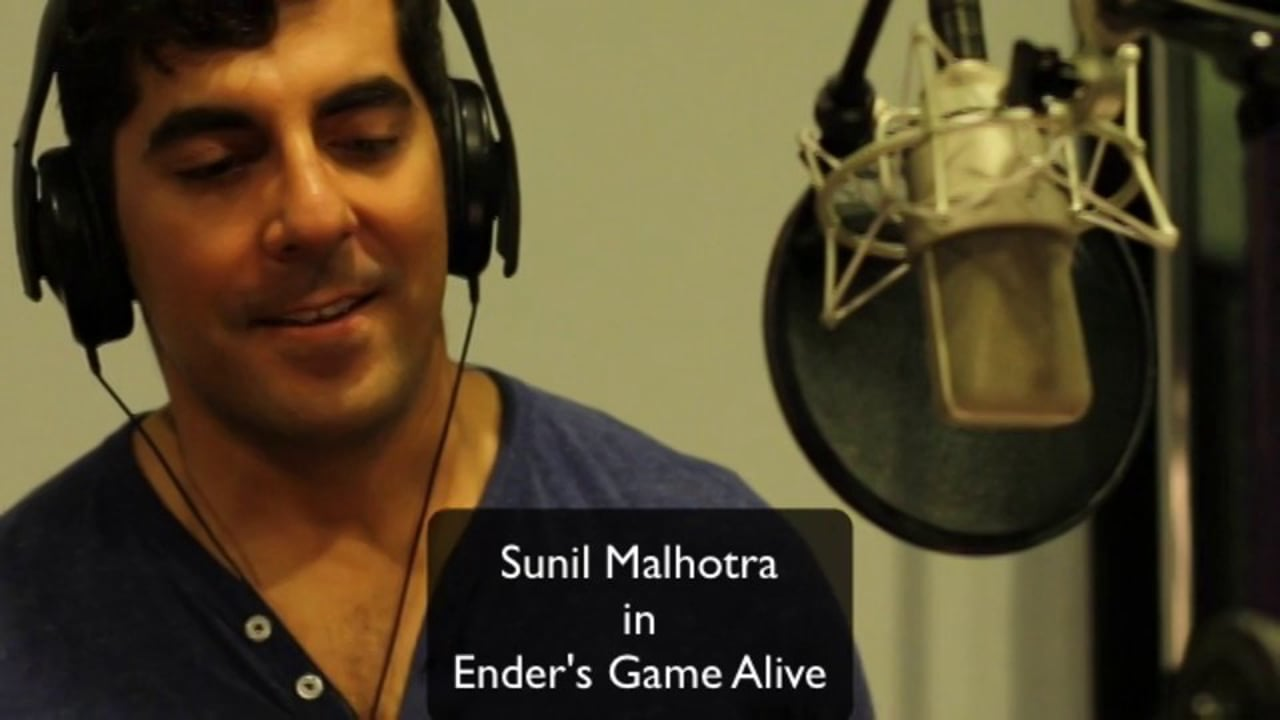 Sunil Malhotra in Ender's Game Alive