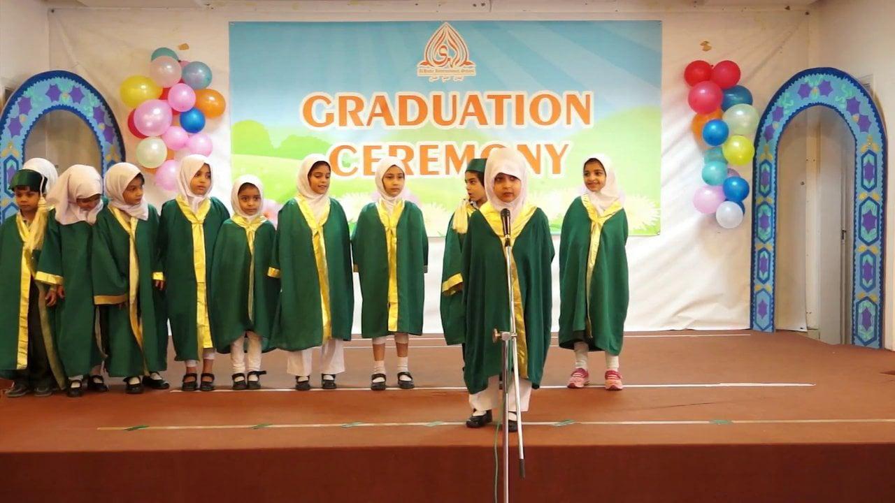 PreSchool & Montessori Graduation Ceremony 2013