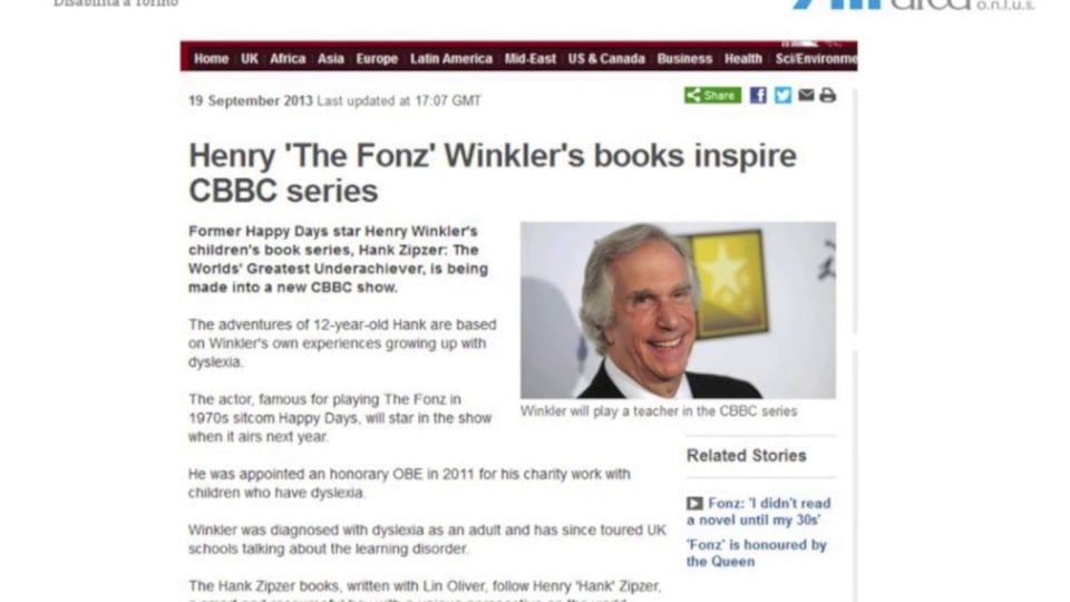 Generazioni a confronto… da Henry Winkler ai piccoli lettori contemporanei