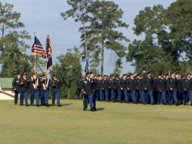 """Fort Benning Television - Dedication of the WII 87th Infantry Division Monument erected on """"The Walk Of Honor."""""""