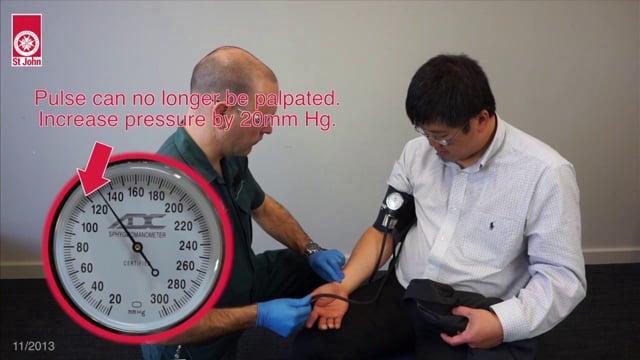 Blood pressure (VIDSKILL020)