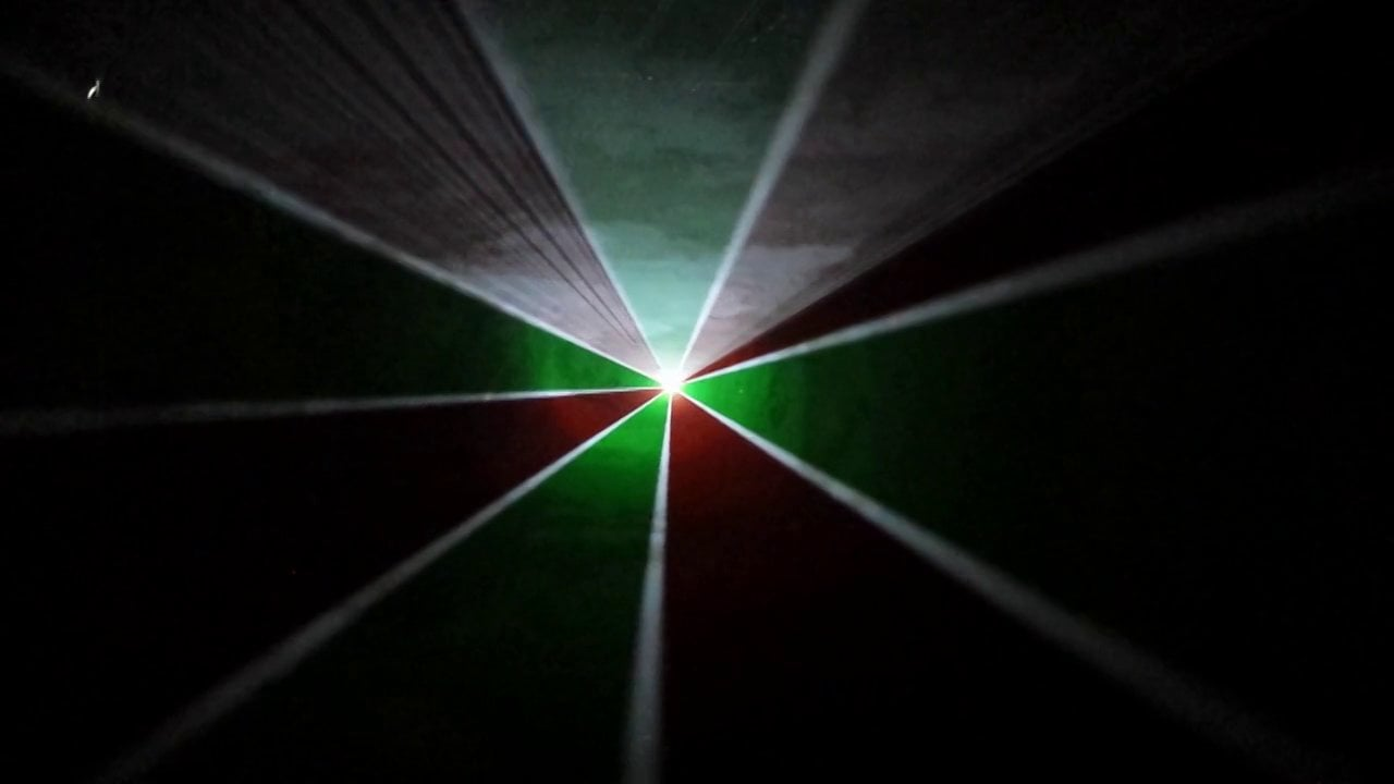 MusicBeam Projection