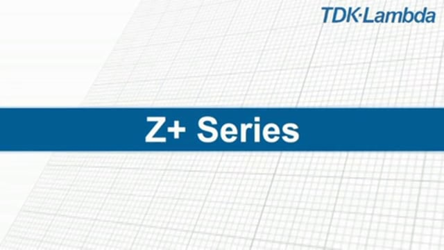 Z+ Series Programmable Bench or Rack Mount Power Supply 200W & 400W