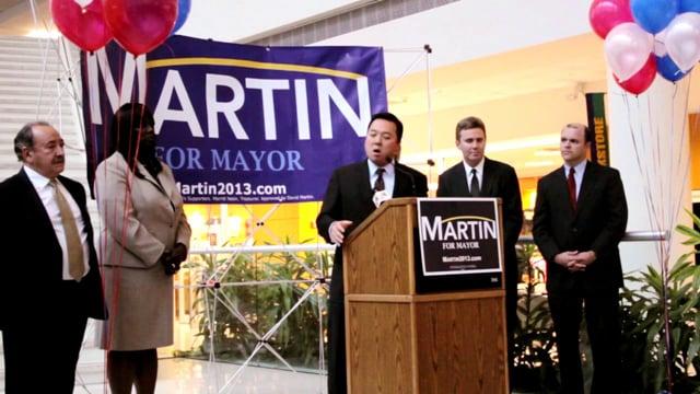 Look who's endorsing David Martin for Stamford Mayor