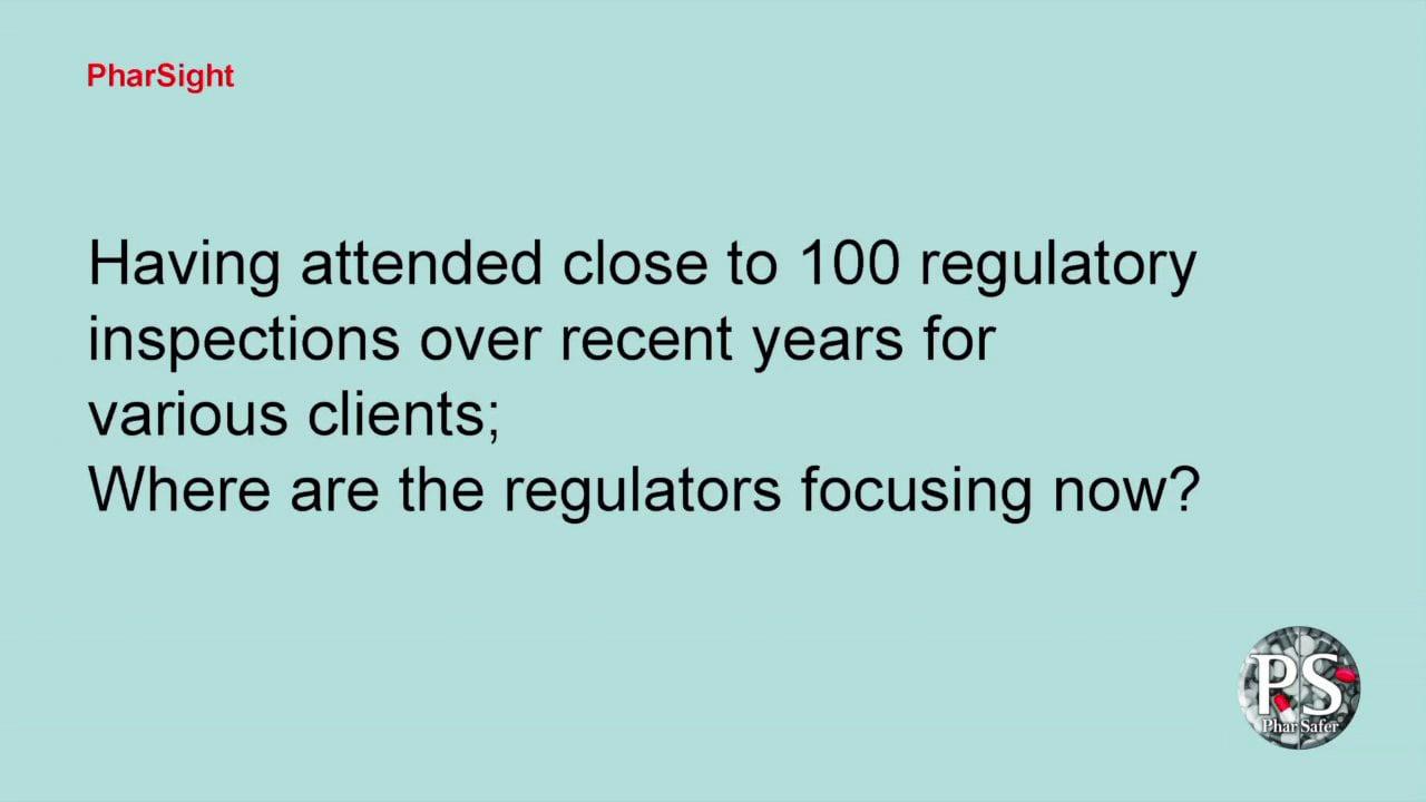 Q 22:  Where are the regulators focusing now...